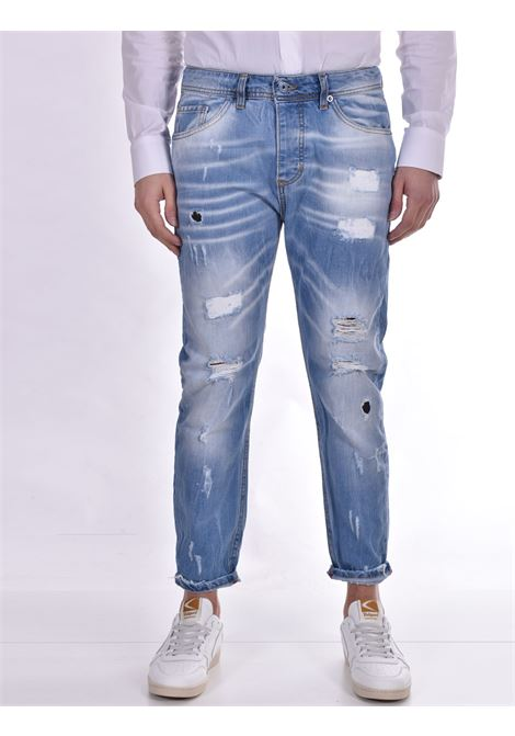 John ross light blue ripped jeans JOHN ROSS | Jeans | 15011