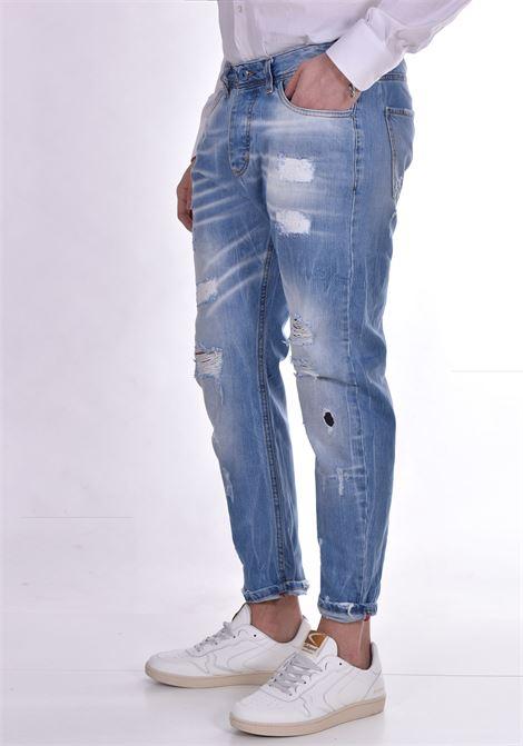 Jeans John ross strappato blu chiaro JOHN ROSS | 15011