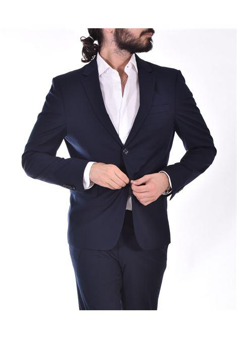 Marcel Morel slim blue suit Marcel Morel | AB011801