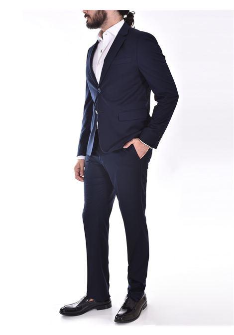 Marcel Morel slim blue suit Marcel Morel   AB011801