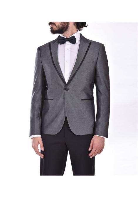 Marcel Morel black gray broken suit Marcel Morel | AB022001