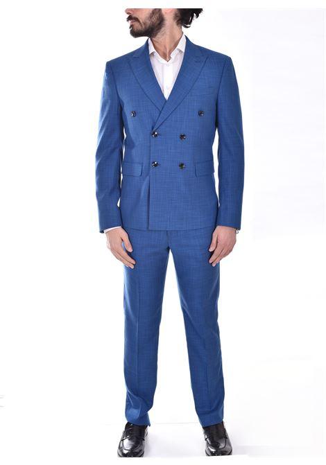 Marcel Morel Light blue double-breasted suit Marcel Morel | AB026701