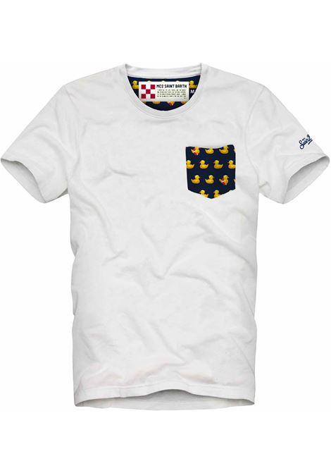 MC2 ducky white t-shirt MC2 SAINT BARTH | T-shirts | 01DUC1