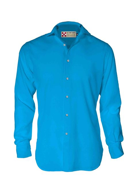 MC2 pamplona blue linen shirt MC2 SAINT BARTH | Shirts | 17F01