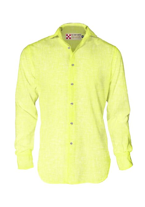 MC2 pamplona yellow linen shirt MC2 SAINT BARTH | Shirts | 9494