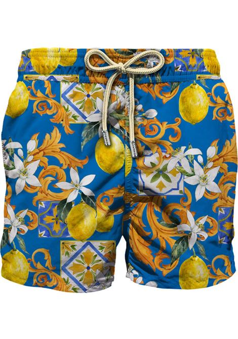 MC2 classic lemons blue  swimsuit  MC2 SAINT BARTH | Swimsuits | CLLE17