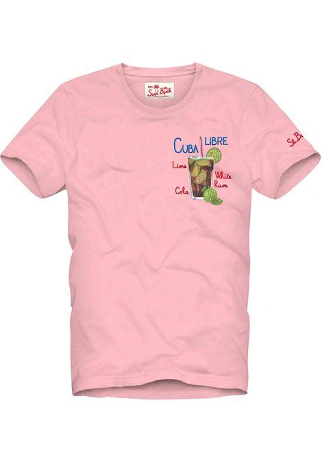 T-shirt MC2 rosa cuba libre MC2 SAINT BARTH | T-shirt | EMCL2101