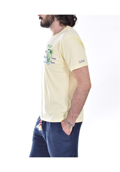 T shirt MC2 mojito giallo MC2 SAINT BARTH | EMMJ9201