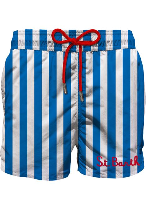 Gustavia blue striped MC2  swimsuit MC2 SAINT BARTH | Swimsuits | ESAL17