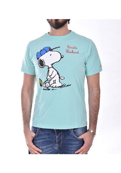 T shirt Mc2 snoopy golf peanuts verde MC2 SAINT BARTH | T-shirt | ESNG5501