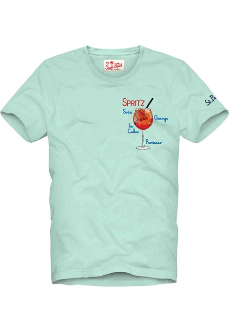 T-shirt MC2 spritz celeste MC2 SAINT BARTH | T-shirt | ESPR5601