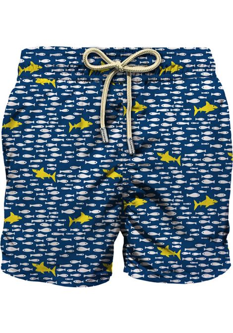 MC2 fish swim shorts in shark MC2 SAINT BARTH | Swimsuits | FNIS61