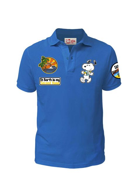 Polo MC2 blu royal snoopy MC2 SAINT BARTH | Polo | PTSA17