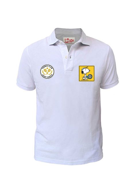 MC2 white cardiff snoopy polo shirt MC2 SAINT BARTH | polo | PTSC0N01