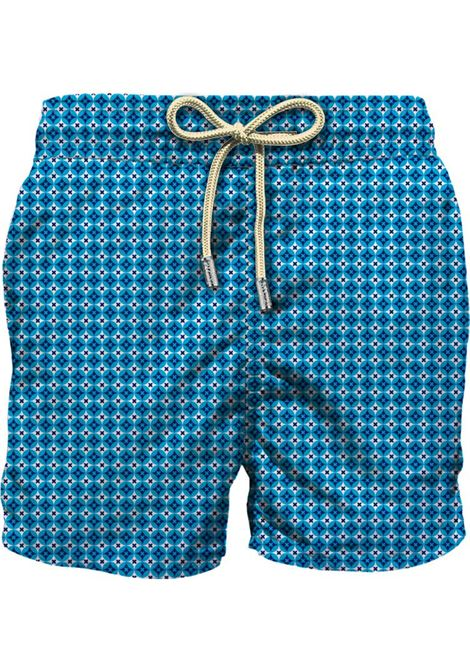 Swimsuit mc2 Saint Barth rhomboid cross blue MC2 SAINT BARTH | Swimsuits | RMCR63
