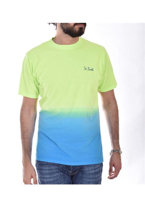 T Shirt MC2 portofino shades giallo azzurro MC2 SAINT BARTH | T-shirt | SBSD9301