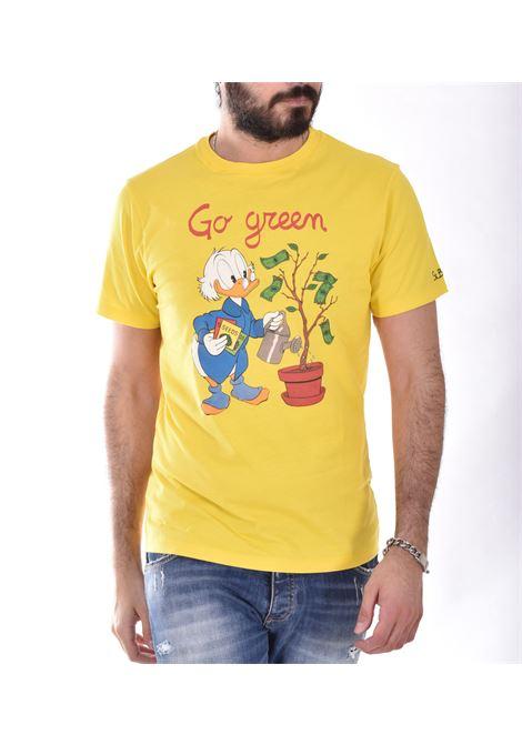 T shirt MC2 scrooge mcduck gialla MC2 SAINT BARTH | T-shirt | SCPL9191
