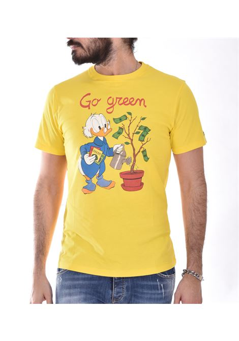 T shirt MC2 scrooge mcduck gialla MC2 SAINT BARTH | SCPL9191