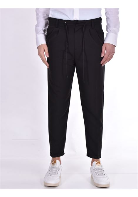 Officina 36 black rudy trousers OFFICINA 36 | Trousers | 2807P1