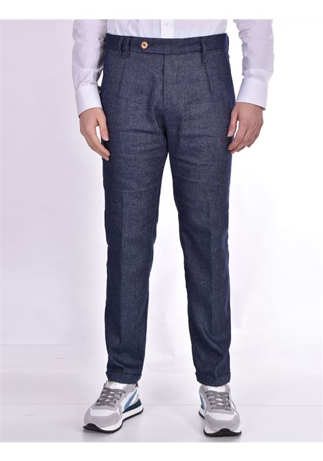 Jeans trousers Officina 36 linen cotton roger OFFICINA 36 | Jeans | 2814TP1