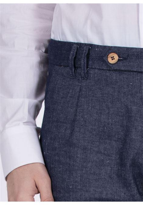 Jeans trousers Officina 36 linen cotton roger OFFICINA 36 | 2814TP1