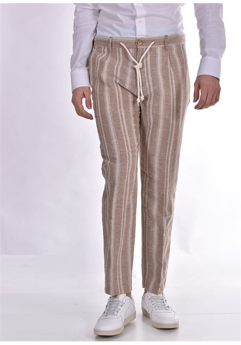 Officina trousers 36 lines beige linen OFFICINA 36 | Trousers | 2822TP1