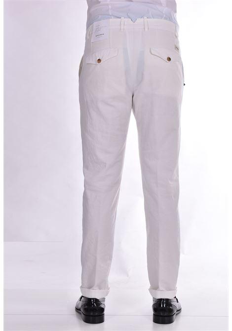Pantalone Officina 36 lino bianco OFFICINA 36 | Pantaloni | 2873CP1