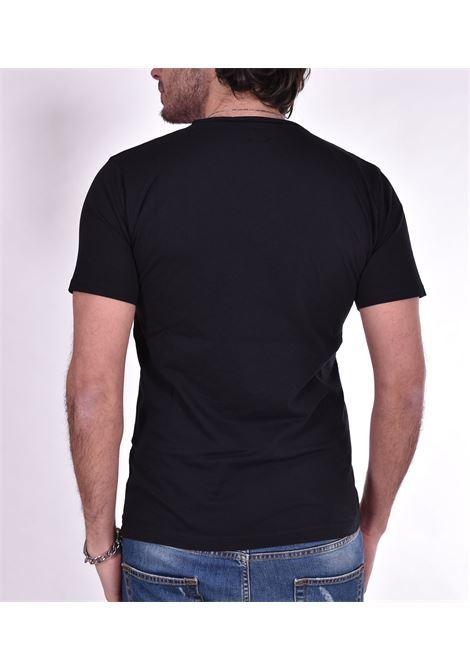 T shirt Officina 36 scollo V nera OFFICINA 36 | T-shirt | AM611