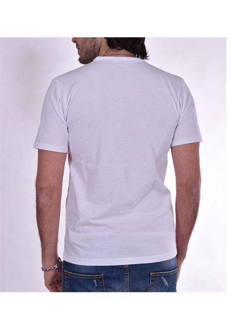 T shirt Officina 36 scollo V bianca OFFICINA 36 | T-shirt | AM612