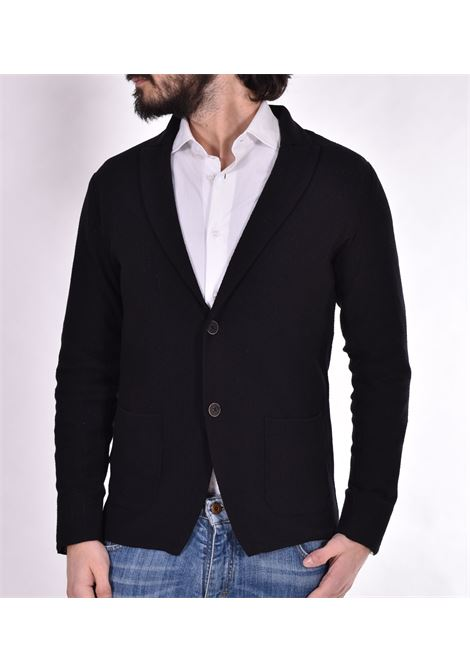 Officina 36 black jersey jacket OFFICINA 36 | Blazers | CUBG0401