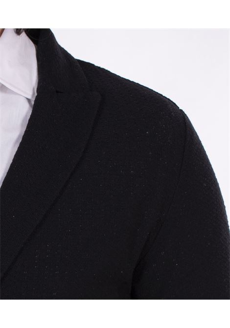 Giacca maglia Officina 36 nera OFFICINA 36 | Giacche | CUBG0401