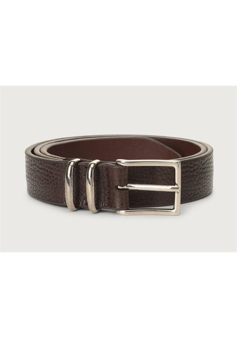 Orciani man belt grit dark brown ORCIANI | Belts | U079852