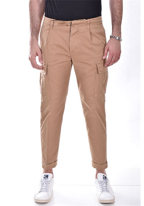 Beige Outfit Italy cargo trousers OUTFIT ITALY | P021470