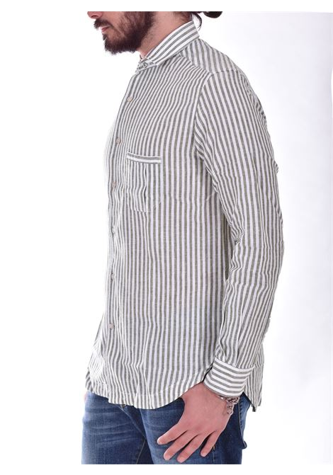 Camicia Outfit Italy righe salvia OUTFIT ITALY | S1C032129