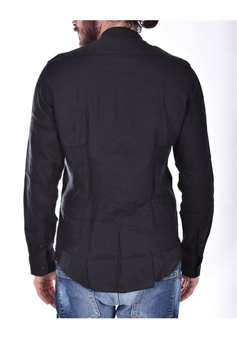 Camicia Outfit Italy corea lino nero OUTFIT ITALY | Camicie | T00C006101