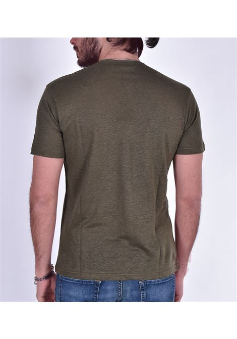 Green linen Outfit Italy t shirt OUTFIT ITALY | T-shirts | T002131