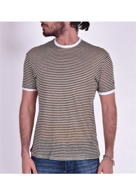 Green striped outfit t-shirt OUTFIT | T-shirts | T003131