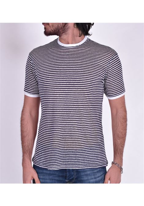 Blue striped outfit t-shirt OUTFIT | T-shirts | T003174