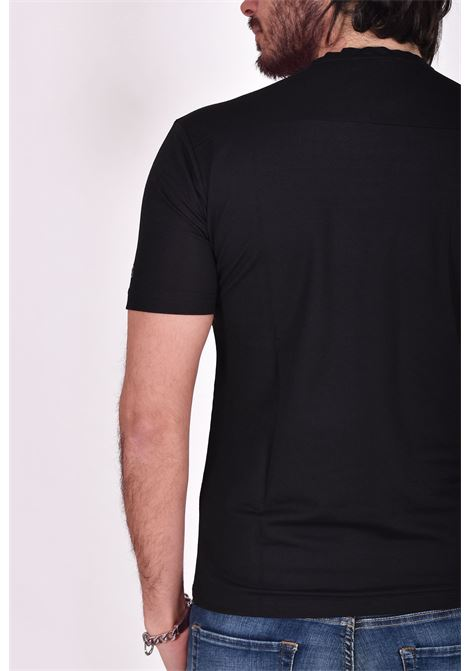 Black nylon viscose Outfit Italy t shirt OUTFIT ITALY | T-shirts | T005101