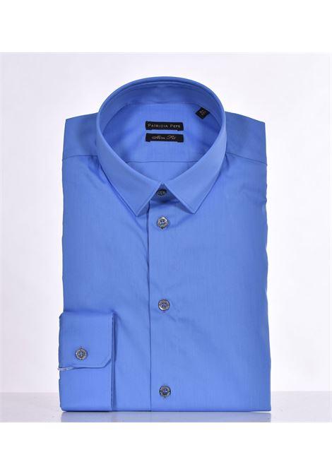 Patrizia Pepe blue shirt PATRIZIA PEPE | Shirts | 5C0055C112