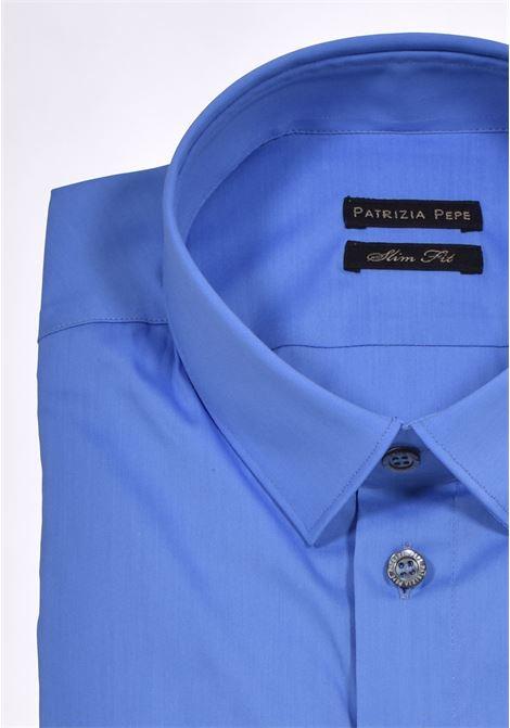 Patrizia Pepe blue shirt PATRIZIA PEPE | 5C0055C112