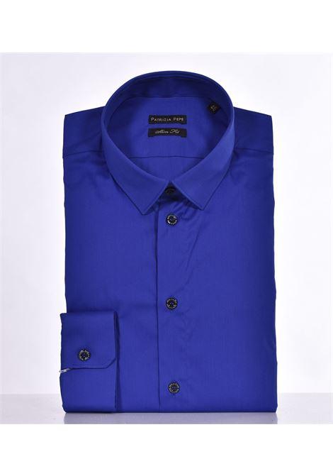 Camicia Patrizia Pepe blu royal PATRIZIA PEPE | Camicie | 5C0055C882