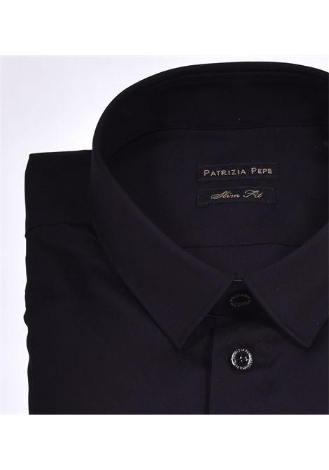 Camicia Patrizia Pepe nero PATRIZIA PEPE | Camicie | 5C0055K102