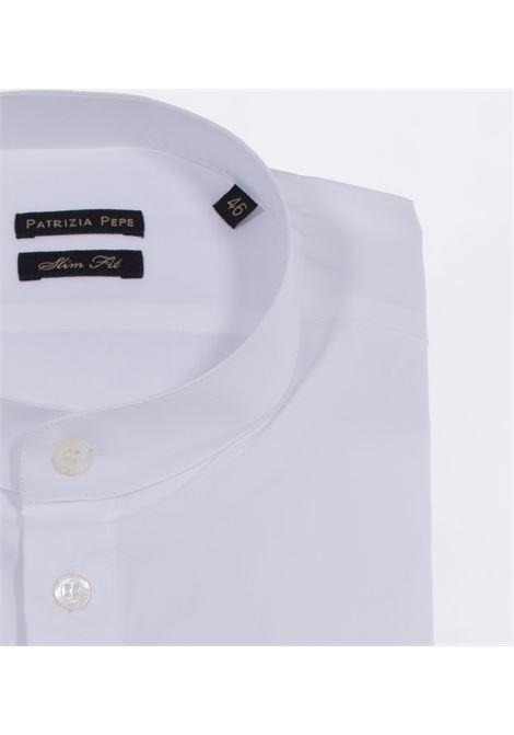 Patrizia Pepe men's white Korean shirt PATRIZIA PEPE | 5C0257W103