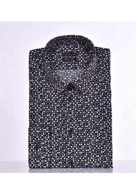 Patrizia Pepe shirt black white pattern PATRIZIA PEPE | Shirts | 5C055BFB66