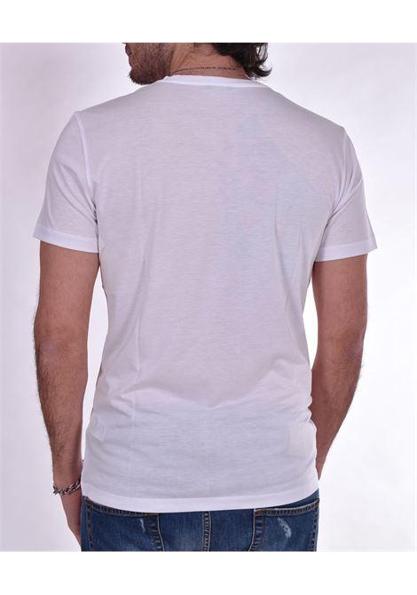 T-shirt Patrizia Pepe serafino bottoni bianca PATRIZIA PEPE | T-shirt | 5M1267W103