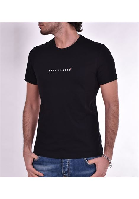 T shirt Patrizia Pepe logo nero PATRIZIA PEPE | T-shirt | 5M1290K102