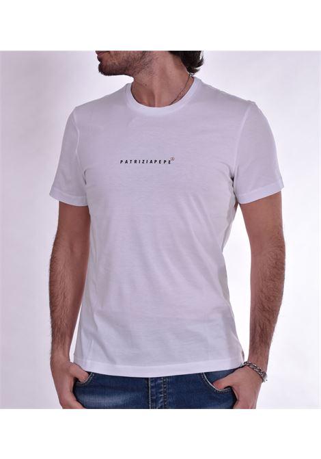 T shirt Patrizia Pepe logo bianca PATRIZIA PEPE | T-shirt | 5M1290W103