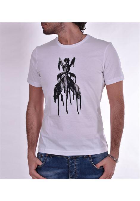 T shirt Patrizia Pepe bianca stampa PATRIZIA PEPE | T-shirt | 5M1304W103