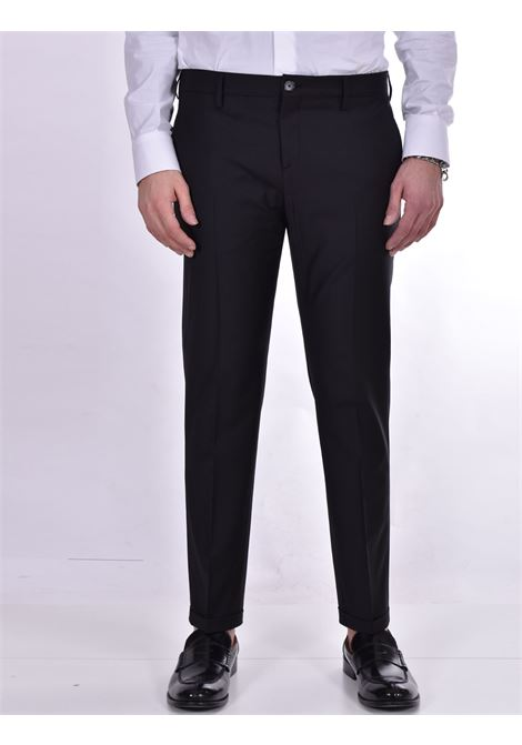 Patrizia Pepe black vinyl trousers PATRIZIA PEPE | Trousers | 5P0429K102